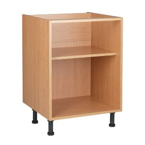 View Cooke & Lewis Oak Effect Base Cabinet Unit Carcass (W)600mm details
