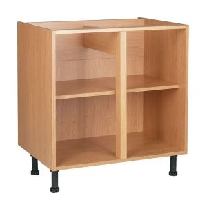View Cooke & Lewis Oak Effect Standard Base Cabinet Unit Carcass (W)800mm details