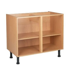 View Cooke & Lewis Oak Effect Base Cabinet Unit Carcass (W)1m details