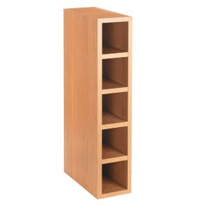 View Cooke & Lewis Oak Style Slab Wine Rack Cabinet (W)150mm details