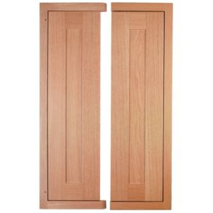 View Cooke & Lewis Clevedon 625mm Tall Corner Door, PACK DD1, Set of 2 details