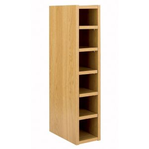 View IT Kitchens Traditional Oak Style Wine Rack Cabinet (W)150mm details