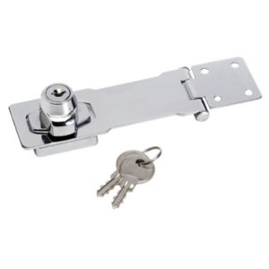 View Master Lock Steel (L)117mm Hasp & Lock details