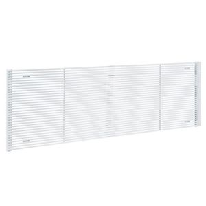 View Acova Striane Horizontal Radiator White, (H)608 mm (W)1200mm details