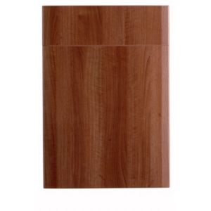 View IT Kitchens Walnut Style Modern 500mm Drawerline Door & Drawer Front, PACK Q, Set of 2 details