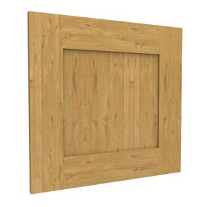 View Form Darwin Shaker Oak Effect Matt Bridging Door (H)348 mm (W)497 mm details