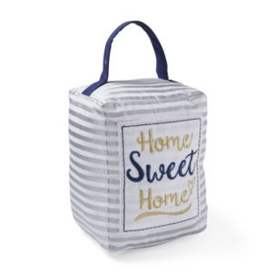 View Home Sweet Home Silver & White Doorstop details