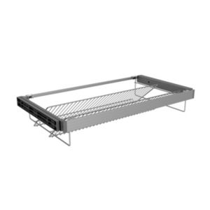 Form Darwin Silver Effect Shoe Rack (W)950mm