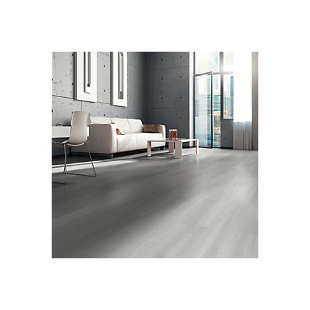 White Washed Laminate Flooring hampton bay maui whitewashed oak 8 mm thick x 11 12 in wide x 46 12in length click lock laminate flooring 2228 sq ft case 898923 the home depot 000