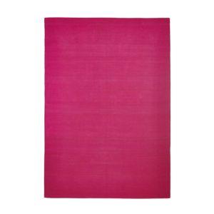 Image of Colours Madisen Fuchsia Plain Rug (L)1.7m (W)1.2 m