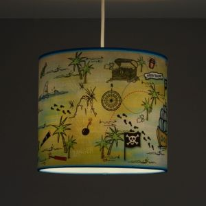 Image of Kids Colours Pirate Multicolour Light shade (D)250mm