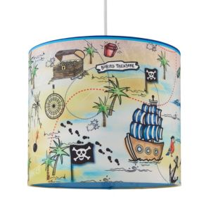 Image of Kids Colours Pirate Multicolour Light Shade (D)25cm