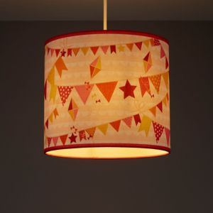 Image of Kids Colours Bunting Multicolour Light shade (D)250mm