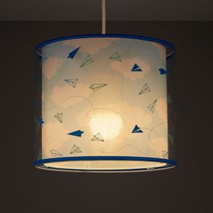 Image of Kids Colours Sky Blue Light shade (D)250mm
