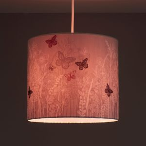 Image of Kids Colours Butterfly Garden Lilac Light shade (D)250mm