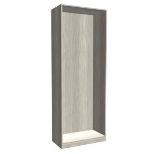 Darwin Modular Grey Oak Effect Tall Wardrobe Cabinet (H)2356mm (W)750mm (D)374mm