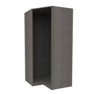 Image of Darwin Grey Oak Effect Corner Cabinet (H)2004mm (W)998mm (D)662mm