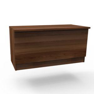 Darwin Modular Walnut Effect Blanket Box (H)455mm (W)900mm