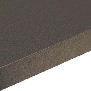 Zinc Black Laminate Square Edge Worktops Kitchen