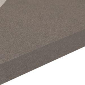 Image of 38mm Aura Black Laminate Gloss Granite Effect Square Edge Breakfast Bar (L)3000mm (D)665mm