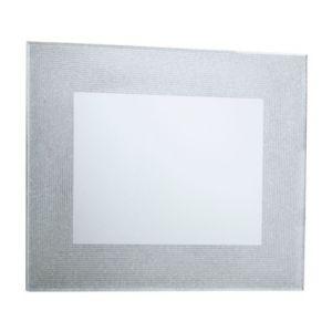 Image of Colours Lucina Glitter Frameless Rectangular Mirror (H)600mm (W) 500mm