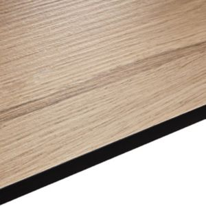 12.5mm Pyla Wood Effect Square Edge Kitchen Worktop (L)3020mm (D)610mm