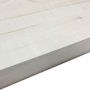 38mm Maple Crème Chipboard Square Edge Kitchen Worktop (L)3000mm (D)600mm