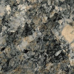 Image of 28mm Carnival granite Brown Marble effect Round edge Laminate Worktop (L)2m (D)365mm