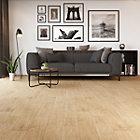 Deep Wood Natural Wood Effect Porcelain Wall & Floor Tile, Pack of 8, (L)900mm (W)150mm