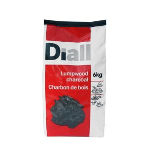 Image of Diall Lumpwood charcoal 6kg