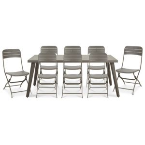 Image of Cantua Metal 8 seater Dining set