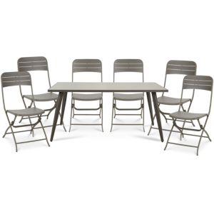 Image of Katalla Metal 6 seater Dining set