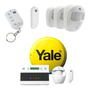 Image of Yale Wireless Easy fit Telecommunicating Starter Alarm with Accessories Bundle