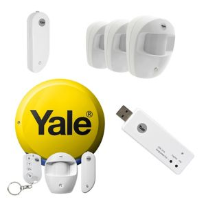 Image of Yale Wireless Easy Fit Alarm Kit with Accessories