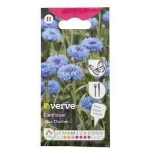 Image of Blue Diadem Cornflower Seed