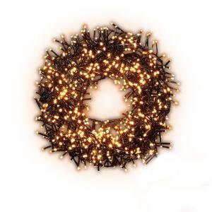 1000 Warm white LED Cluster String lights