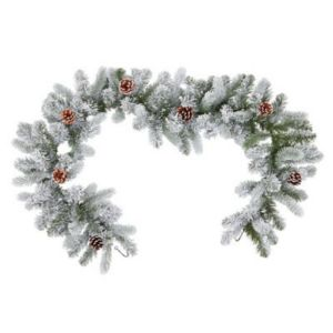1.83m Frosted Garland
