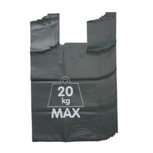 Image of Verve Green Recycled high density polyethylene Garden refuse sack 150L Pack of 5