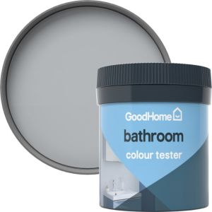 Image of GoodHome Bathroom Brooklyn Soft sheen Emulsion paint 0.05L Tester pot