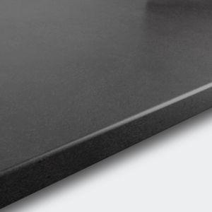 Image of 22mm GoodHome Algiata Grey Matt Laminate Worktop (L)3m (D)620mm
