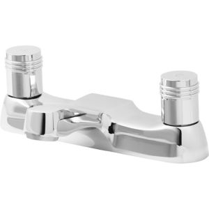 Image of Cooke & Lewis Annagh Chrome plated Bath Mixer Tap