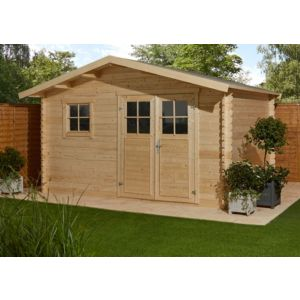 Image of 12x9 TAMAN Apex roof Tongue & groove Wooden Shed
