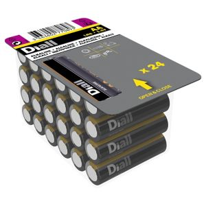 Diall Non-rechargeable AA Battery Pack of 24