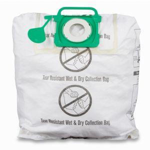 Mac Allister White Vacuum filter bag 40L  Pack of 2
