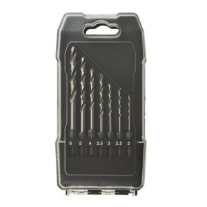 Image of Universal 2-6mm Metal drill bit set 7 Pieces
