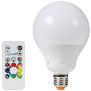 Image of iDual E27 1055lm LED Dimmable Round Light bulb
