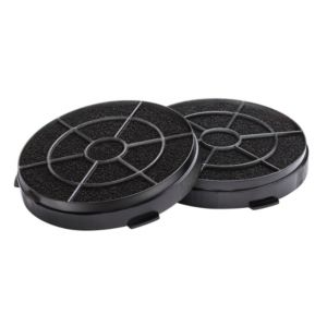 Cooke & Lewis CARBFILT8 Black Carbon filter (H)190mm (W)190mm