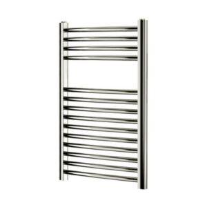 Image of Blyss 165W Chrome Towel warmer (H)700mm (W)400mm