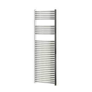 Blyss Chrome Curved Ladder Towel Warmer (H)1600mm (W)600mm