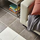 Riminie Dark Grey Matt Ceramic Floor Tile, Pack of 16, (L)300mm (W)300mm